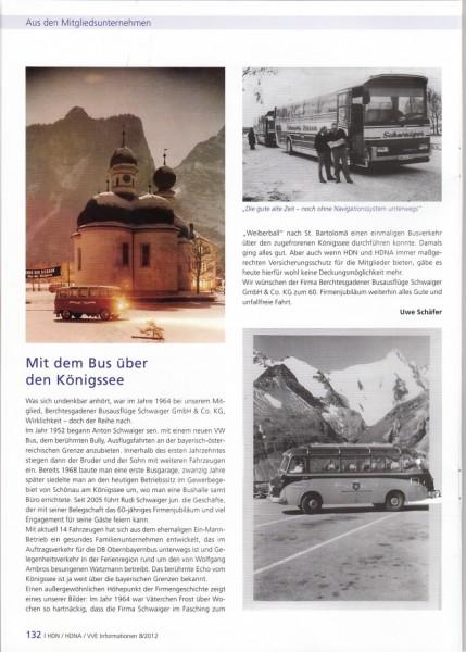 Mit dem Bus über den Königssee