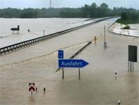 Hochwasser in Bayern 2013
