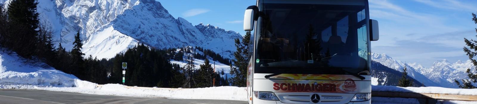 Winterausfahrten Bus Schwaiger