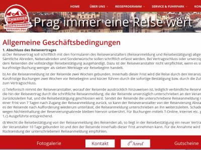 AGB - Anmietung von Omibussen