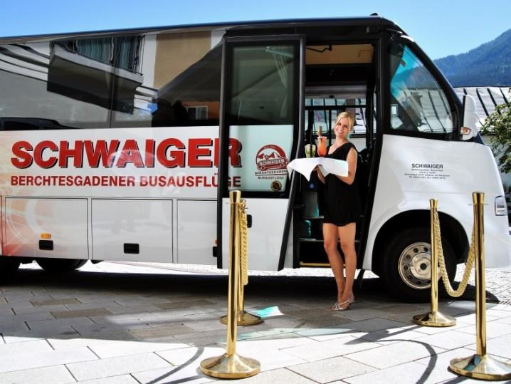 Sonderfahrt mit Bus Schwaiger