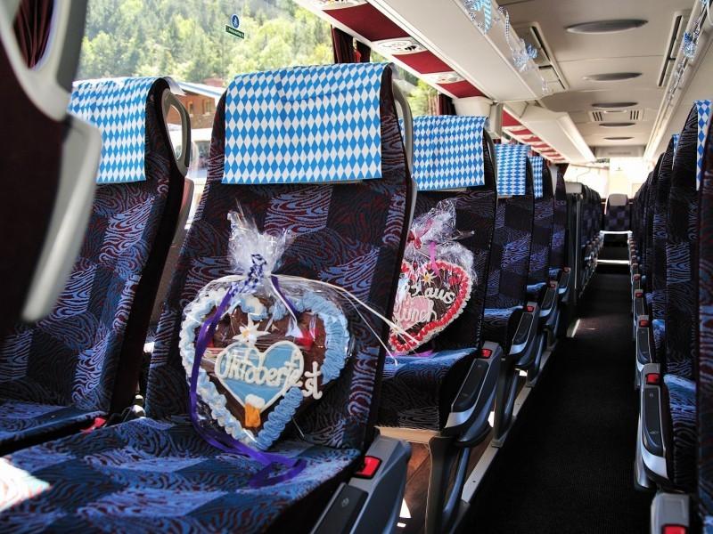 Reisebus Mercedes Tourismo