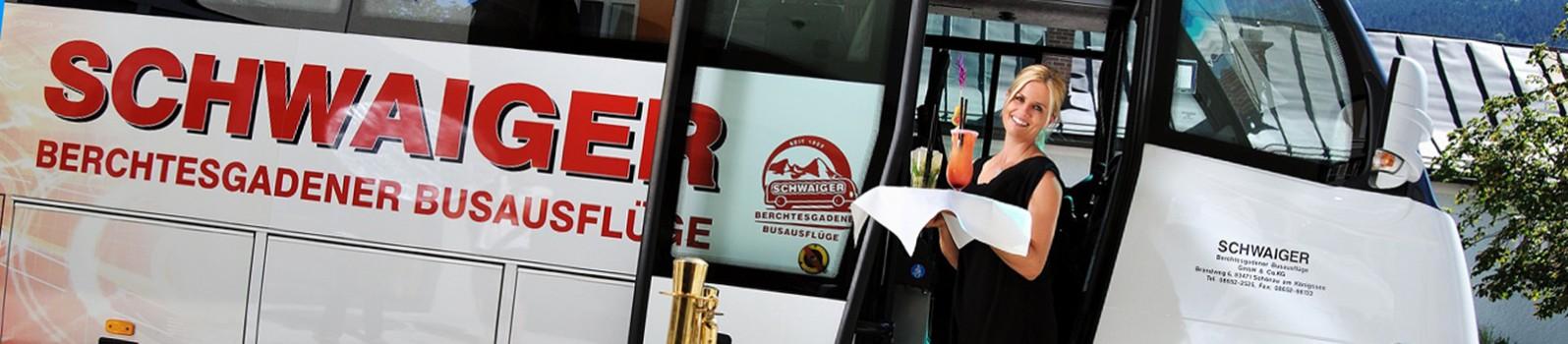 Sonderfahrten bei Bus Schwaiger