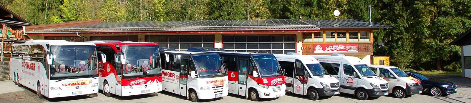 Fuhrpark Bus Schwaiger