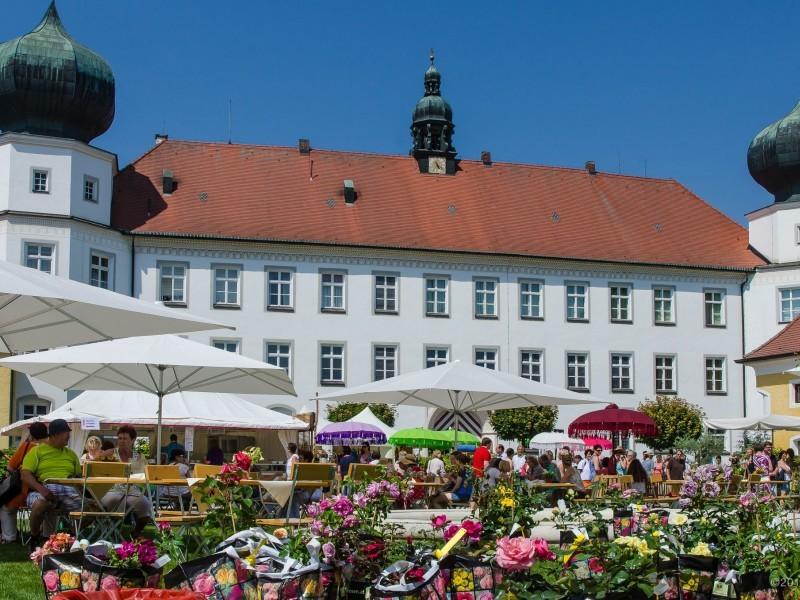 Gartentage Schloss Tüßling