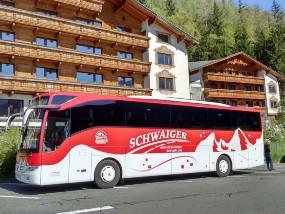 unser Watzmannbus am Wipptaler Hof