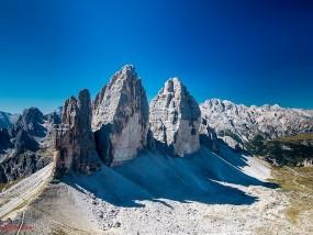 Drei Zinnen in Dolomiten
