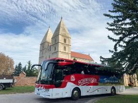 Unser neuer BGL_T Reisebus unterwegs im Burgenland